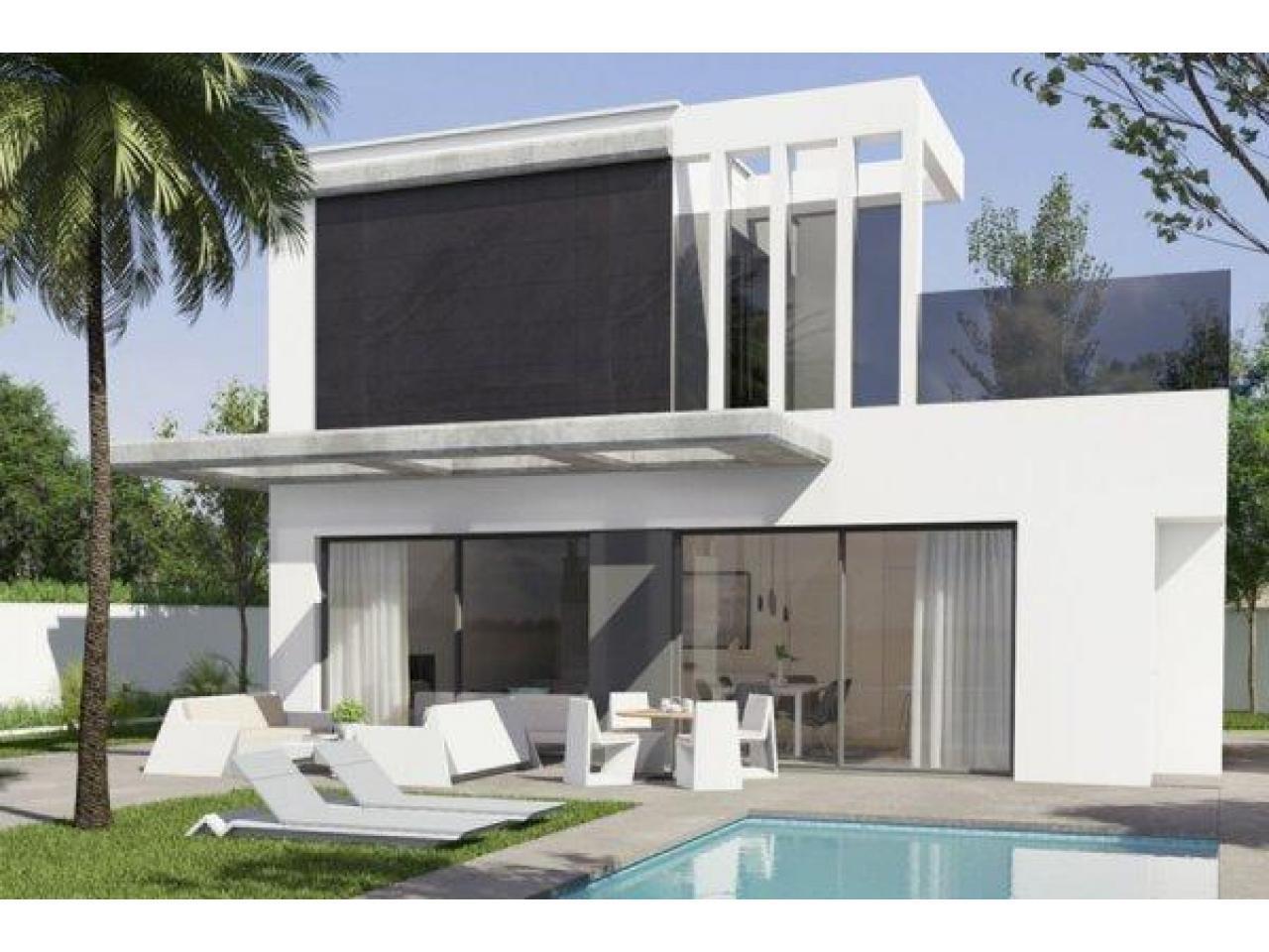 Недвижимость в Испании, Новая вилла рядом с морем от застройщика в Кампельо - 1