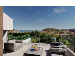 Недвижимость в Испании, Новые бунгало с видами на море от застройщика в Кумбре Дель Соль - Image 1