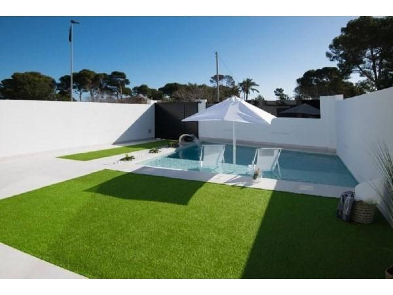 Недвижимость в Испании, Новая вилла рядом с пляжем от застройщика в Сан-Хавьер - 3