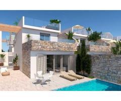 Недвижимость в Испании, Новая вилла рядом с пляжем от застройщика в Лос Алькасарес - Image 1