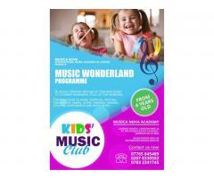 Занятия музыкой для детей от  4-х лет и выше - Image 1