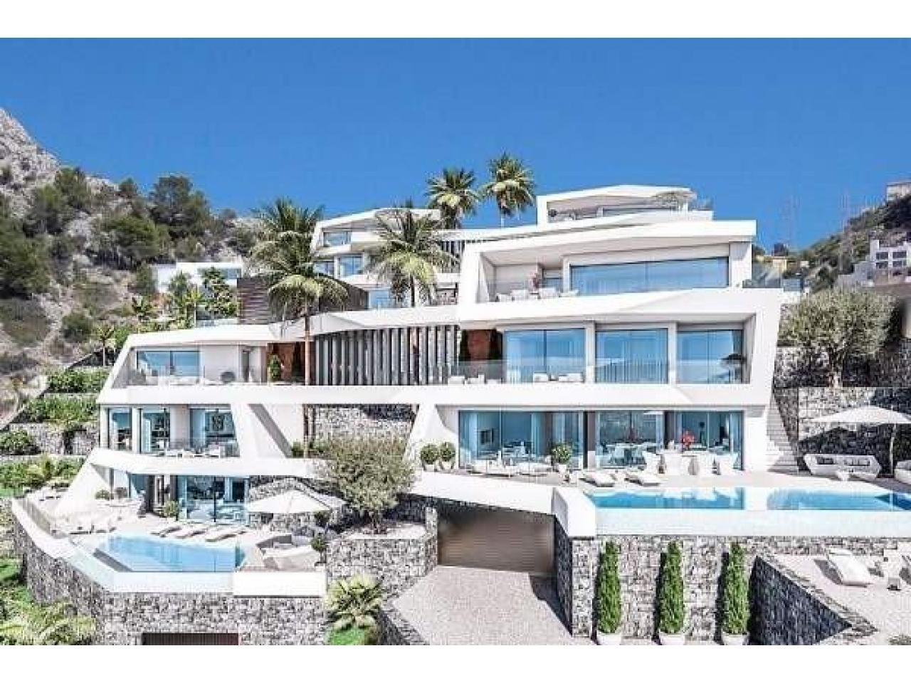 Недвижимость в Испании, Новая вилла с видами на море от застройщика в Альтеа,Коста Бланка,Испания - 1