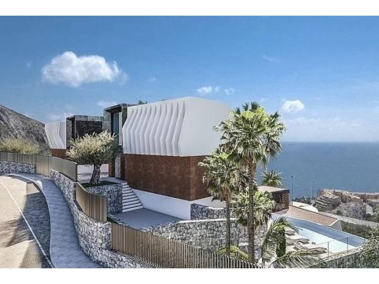 Недвижимость в Испании, Новая вилла с видами на море от застройщика в Альтеа,Коста Бланка,Испания - 3
