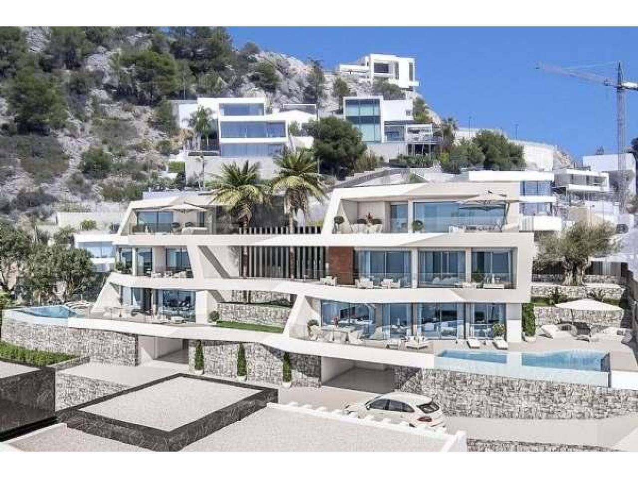 Недвижимость в Испании, Новая вилла с видами на море от застройщика в Альтеа,Коста Бланка,Испания - 5