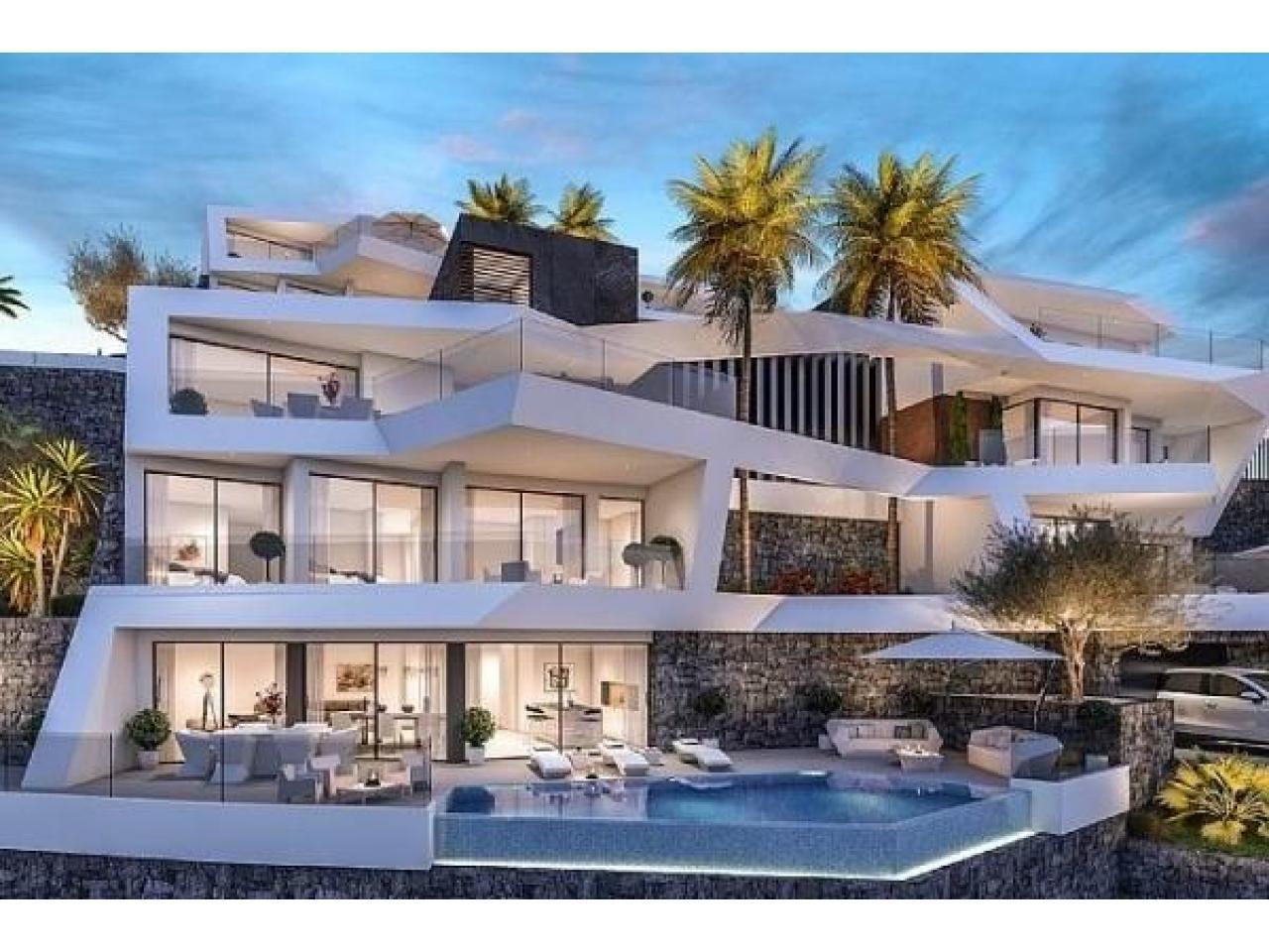 Недвижимость в Испании, Новая вилла с видами на море от застройщика в Альтеа,Коста Бланка,Испания - 9