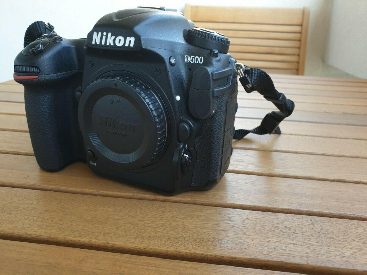 Nikon D500 камера в идеальном состоянии для продажи - 1