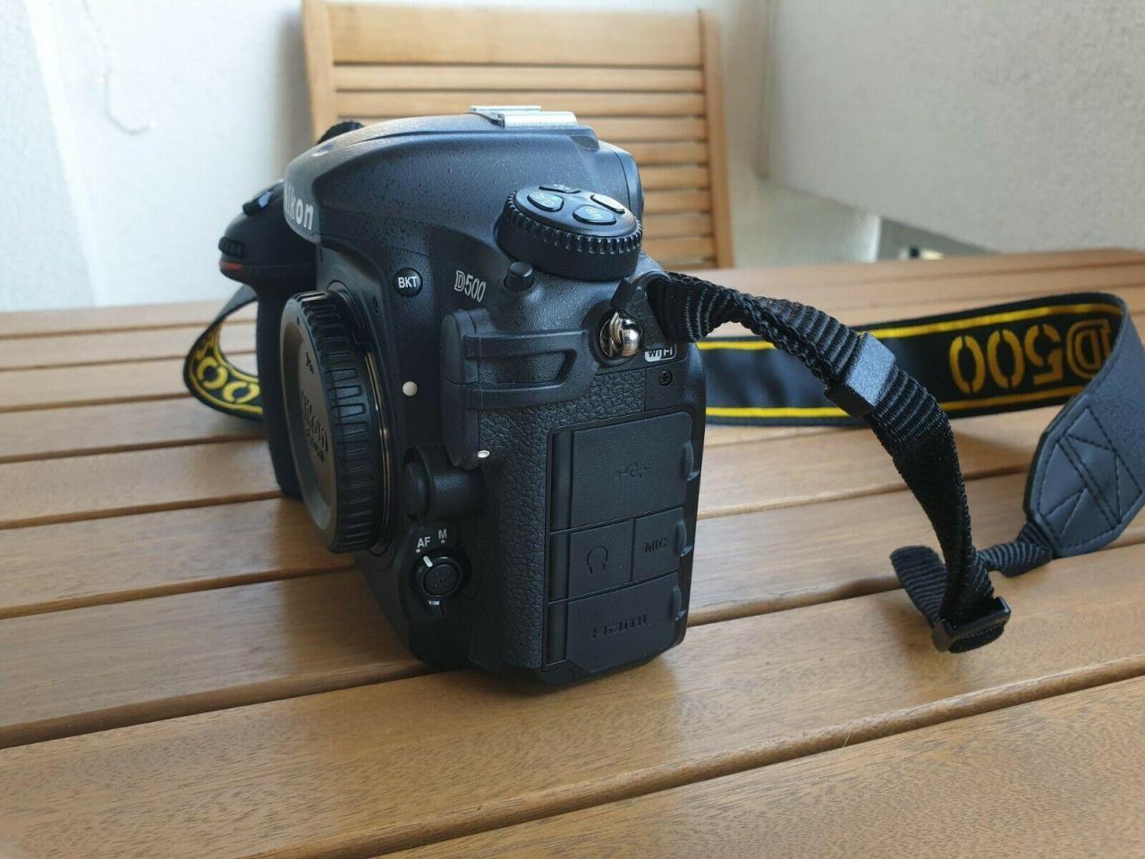 Nikon D500 камера в идеальном состоянии для продажи - 3