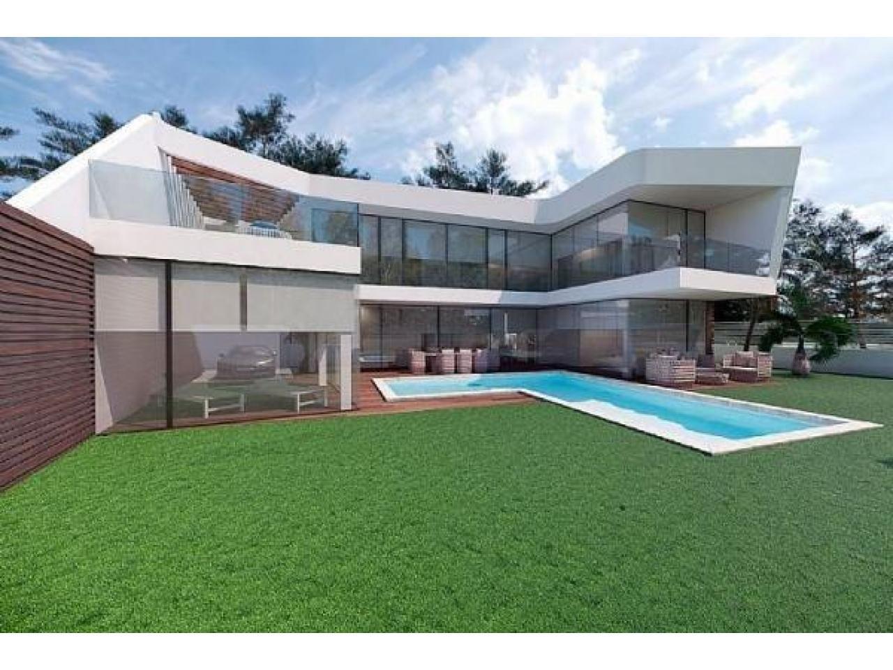 Недвижимость в Испании, Новая вилла рядом с морем от застройщика в Альтеа,Коста Бланка,Испания - 1