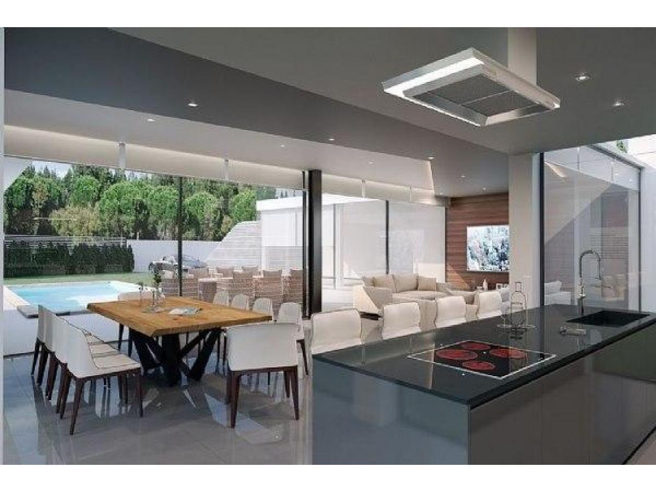 Недвижимость в Испании, Новая вилла рядом с морем от застройщика в Альтеа,Коста Бланка,Испания - 2