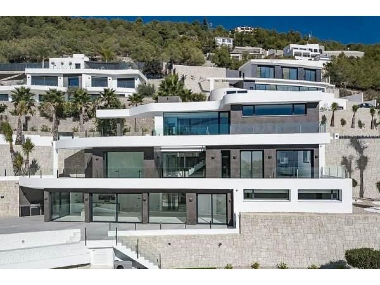 Недвижимость в Испании, Новая вилла с видами на море от застройщика в Венисса,Коста Бланка,Испания - 1