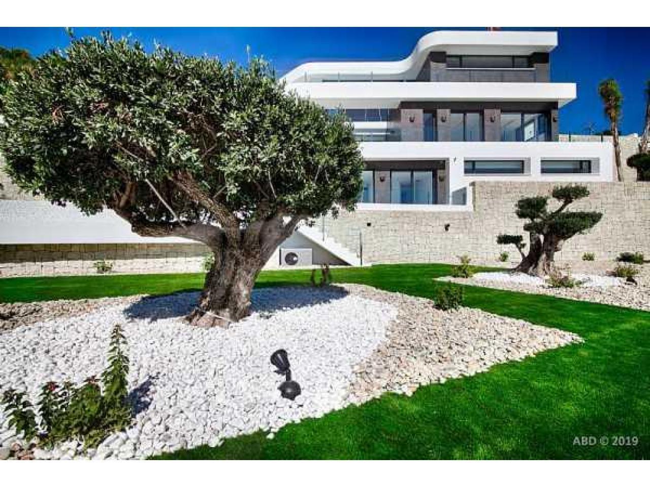Недвижимость в Испании, Новая вилла с видами на море от застройщика в Венисса,Коста Бланка,Испания - 4