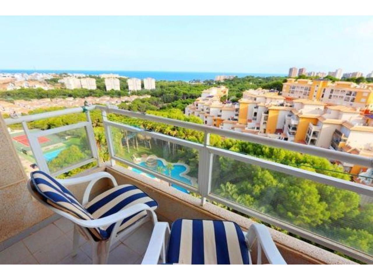 Недвижимость в Испании, Квартира с видами на море в Кампоамор,Коста Бланка,Испания - 1
